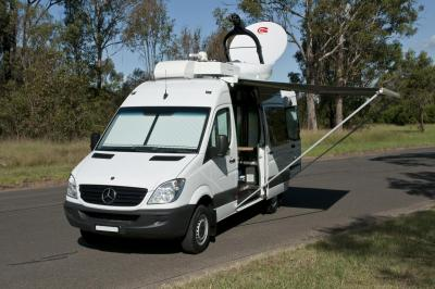 Mobile Broadcast Van