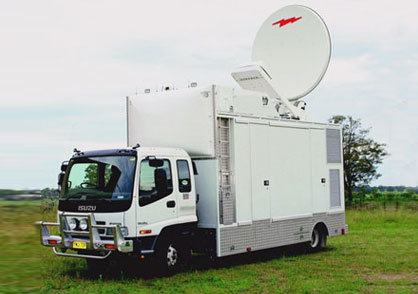 outside broadcast vehiclesatellite uplink