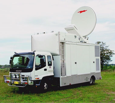 Mobile Broadcast Truck